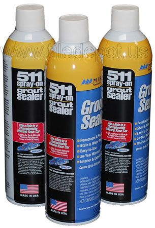 511 Spray On Grout Sealer - 15 Oz