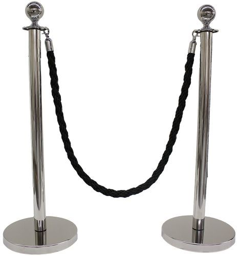 BRAND NEW 3 PCS DECORATIVE ROPE STANCHION SET