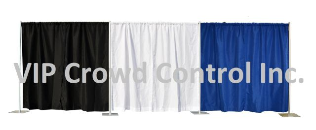 8x20 Pipe & Drape / Backdrop Kit - Brand New