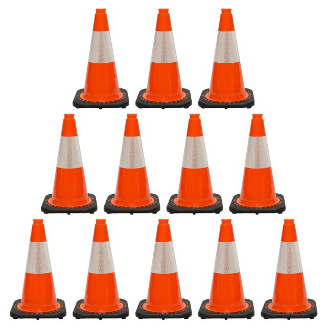 JBC Traffic Cone 12 PCS Set, RS45015C3M6