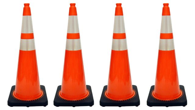 JBC Traffic Cone 4 PCS Set RS90055CT3M64