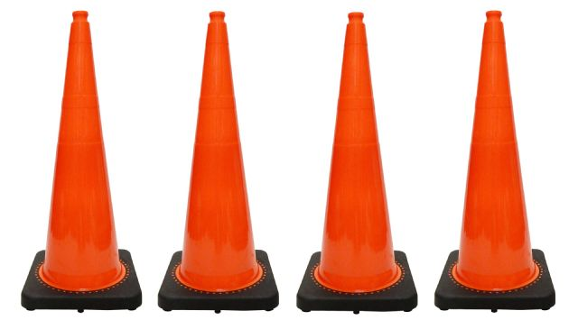 JBC Traffic Cone 4 PCS Set RS90055CT