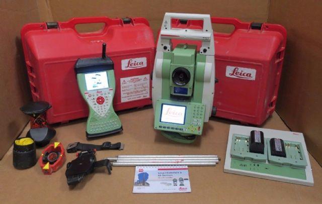 Leica Viva TS12 P 5 R400 Robotic Total Station
