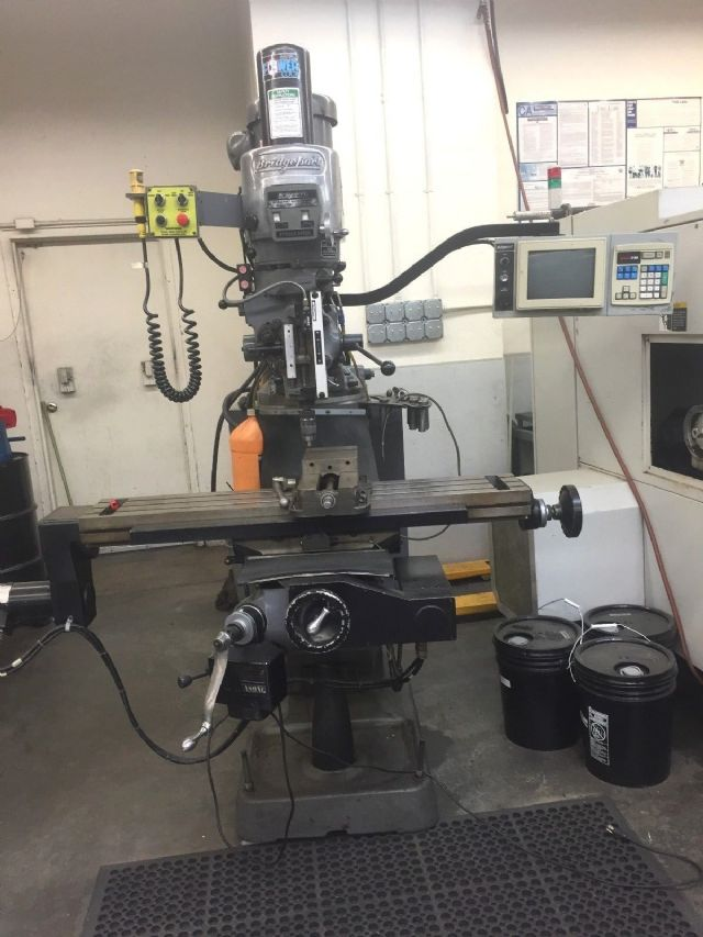 Bridgeport EZ Track CNC Milling Machine