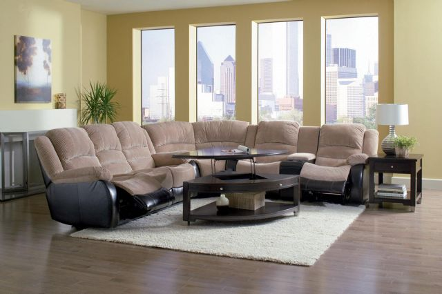 Johanna Corduroy Sofa Sectional Recliner 600362