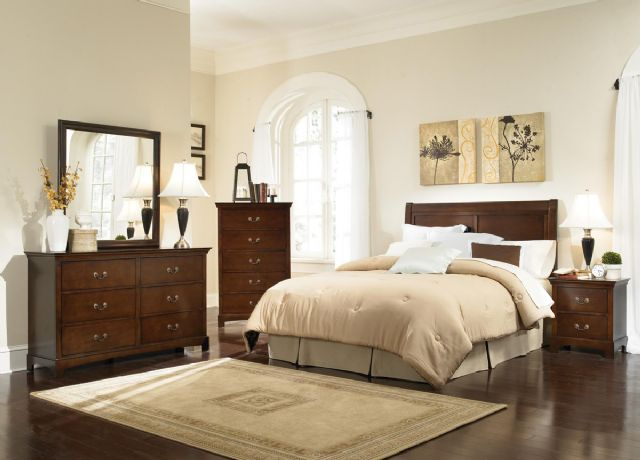 Tatiana Bedroom Rich Espresso Bedroom Set 202391QF