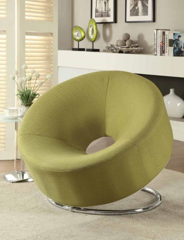 GREEN DONUT SHAPED ACCENT CHAIR 902253 COASTER