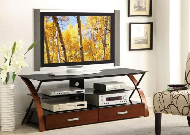 CONTEMPORARY STYLE TV STAND CONSOLES 700771 BY COA