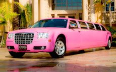 Pink Limos|Pink Hummer Limos|Pink Party Limos