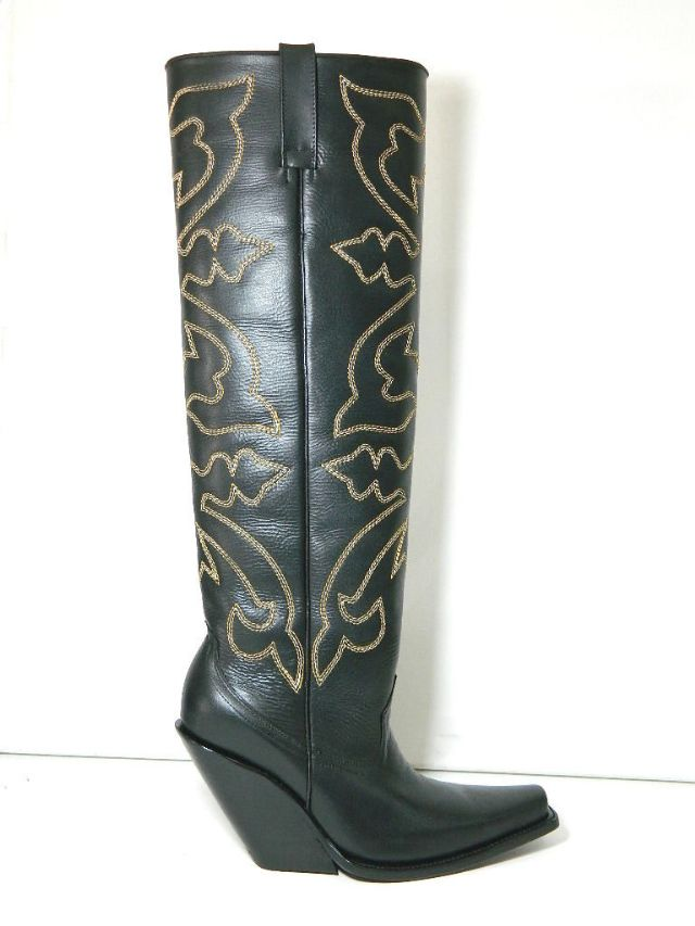 square toe cowboy boots flat tops and 4 inch slant miami