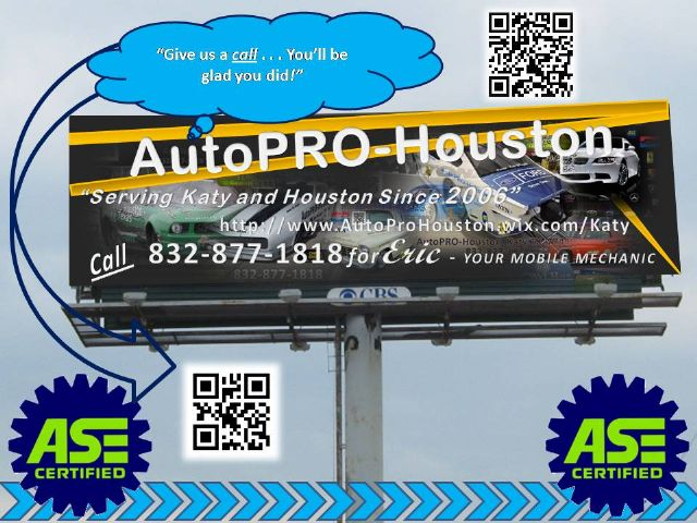 AutoPRO-Houston Mobile Technicians in Katy