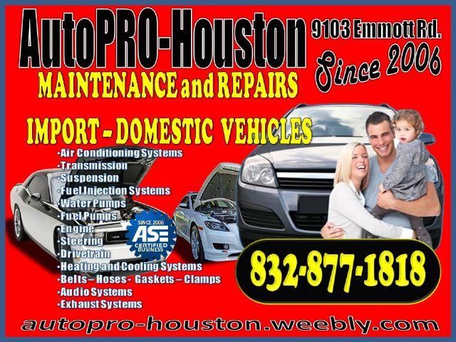 Factory Scheduled Maintenance and Repairs-AutoPRO