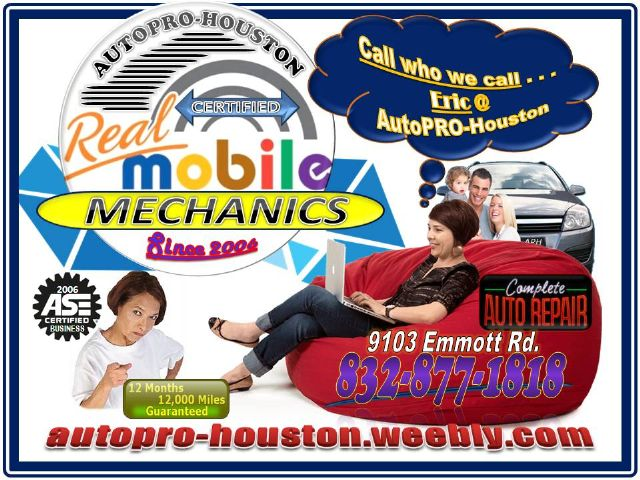 AutoPRO-Houston Certified Professional Mechanics