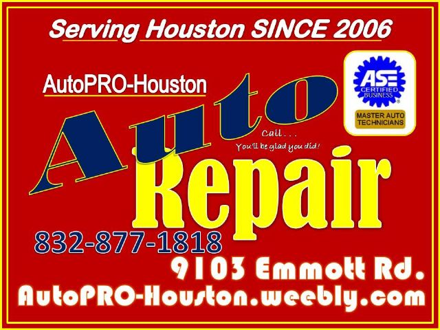 Contact AutoPRO-Houston for Maintenance and Repair