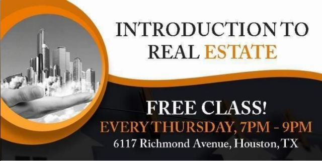 Free Class by 713REIA: Introduction to Real Estate