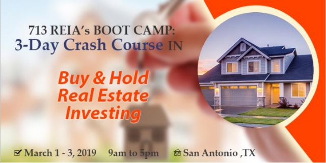 March 1-3: 3 Day Crash Course in Buy & Hold REI