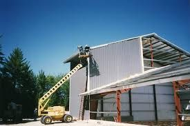 Custom steel fabrication and erectors . . .