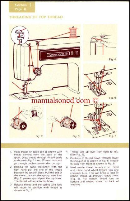 Kenmore 404040 Sewing Machine Manual HOUSTON TEXAS General Simple Kenmore Sewing Machine Manuals
