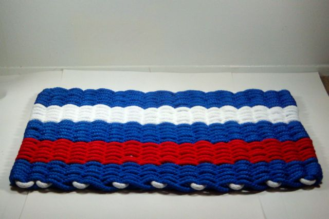 Houston Texans Tough hand woven rope doormats $35 