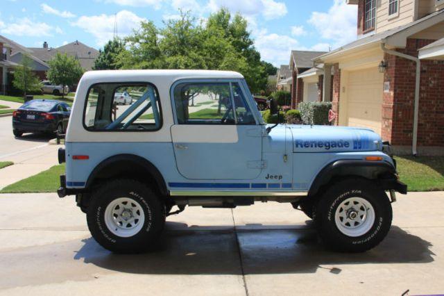 1979 Jeep CJ CJ7 Renegade