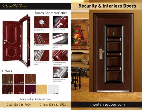 Security u0026 Interior Doors & Monterrey Door HOUSTON TEXAS Household For Sale Classified Ads ...