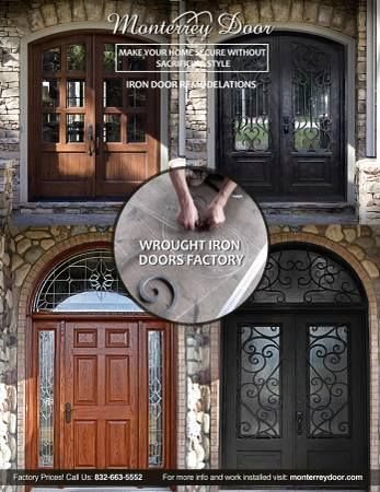 Click to enlarge & All metal wroks/ Iron Doors HOUSTON TEXAS Household For Sale ...