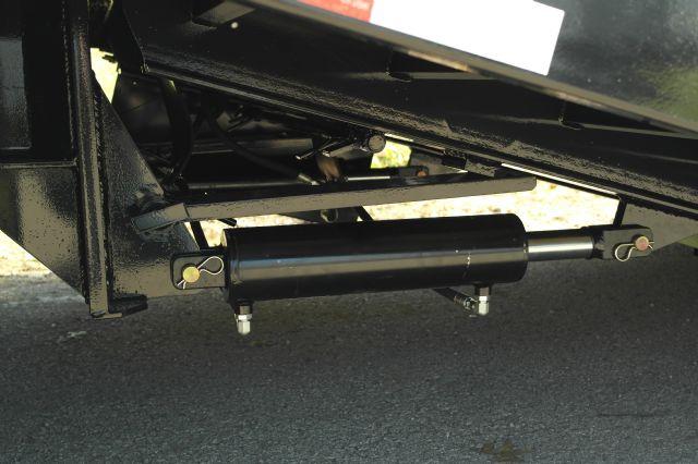 hydraulic Dove tail Gooseneck trailer 20+10 LOUISVILLE ...