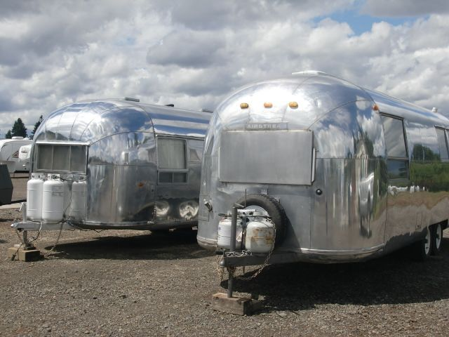 Have a holiday in a Vintage Airstream