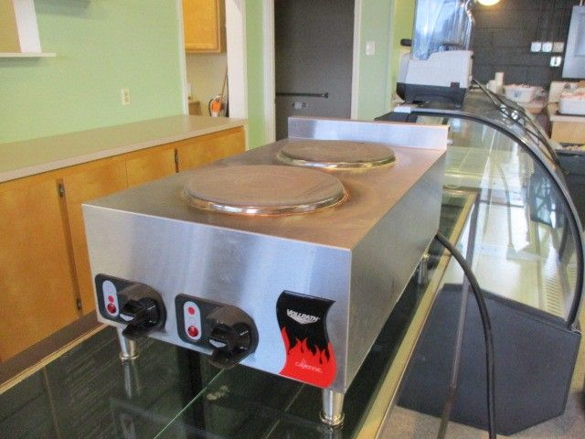 2-Burner S/S Electric Hot Plate RTR# 8081337-10