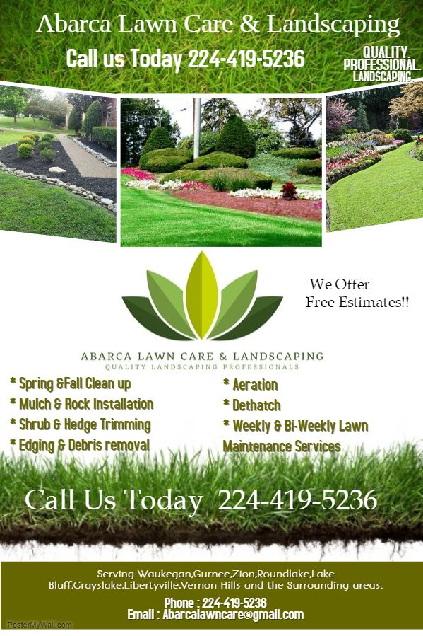 Abarca Lawn Care U0026 Landscaping