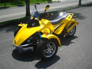 250cc Prowler 3-Wheel Street Cruiser (STREET LEGAL