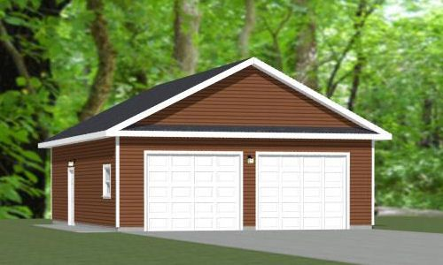 36x24 3 car garage 864 sq ft pdf floor plan atlanta for 40x36 garage