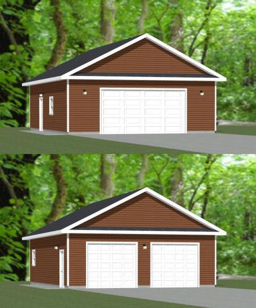 28x36 garage 1008 sqft pdf floor plan albany new for 28x36 garage