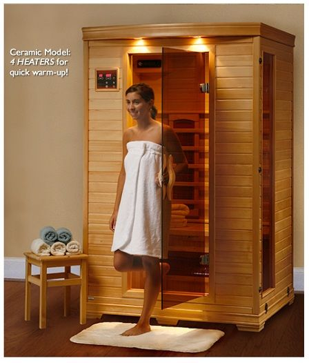Coronado 2 -3 Person Infrared Sauna with Ceramic H