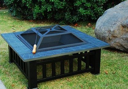 High Quality Metal Fire Pit With Cover
