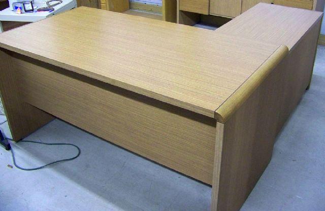 Hon L Shaped Desk And Credenza Decatur Illinois