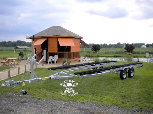 2014 Load Rite pontoon trailer