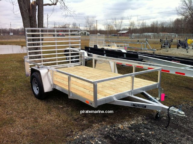 alum utility trailers