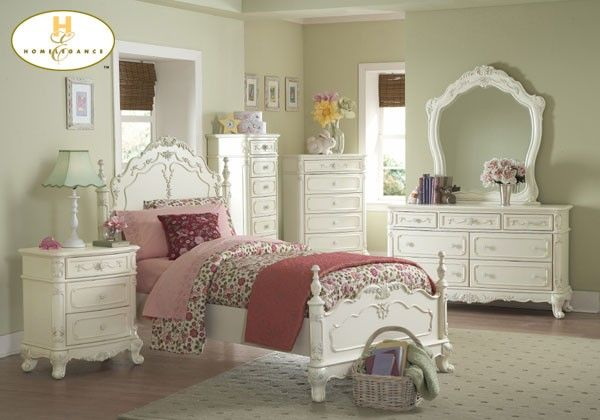 CINDERELLA COLLECTION TWIN BED 1386T-1 Homelegance