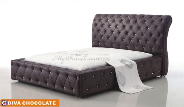 Diva Chocolate Platform Bed by American Eagle