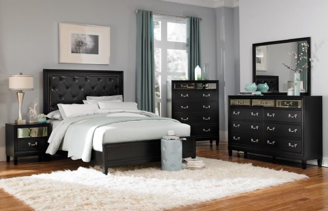 DEVINE BEDROOM COLLECTION QUEEN BED 203121Q