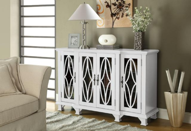 ACCENT CABINETS LARGE WHITE CABINET 950265