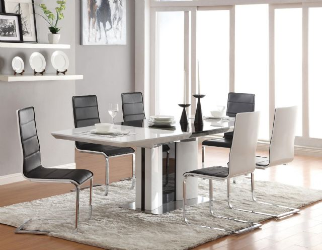 BRODERICK MODERN DINING TABLE 120941 BY COASTER