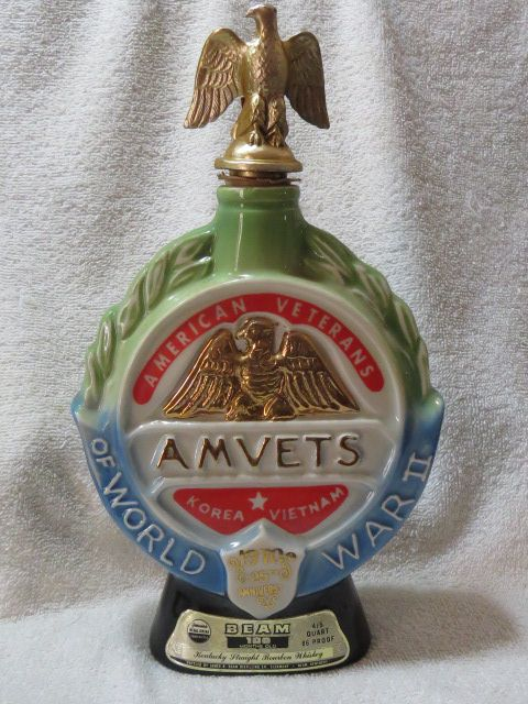 Jim Beam AmVet Decanter