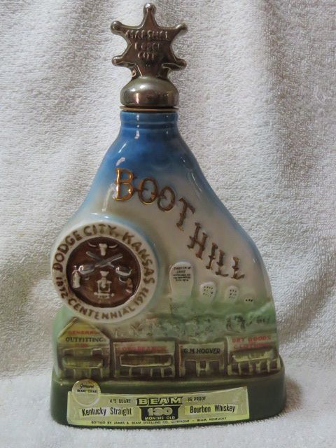 Jim Beam Boothill Decanter