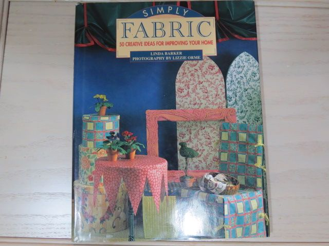 Book called Simply Fabric