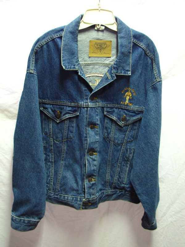 Golds gym denim jacket