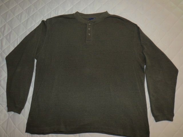 Man's XL long sleeve shirt
