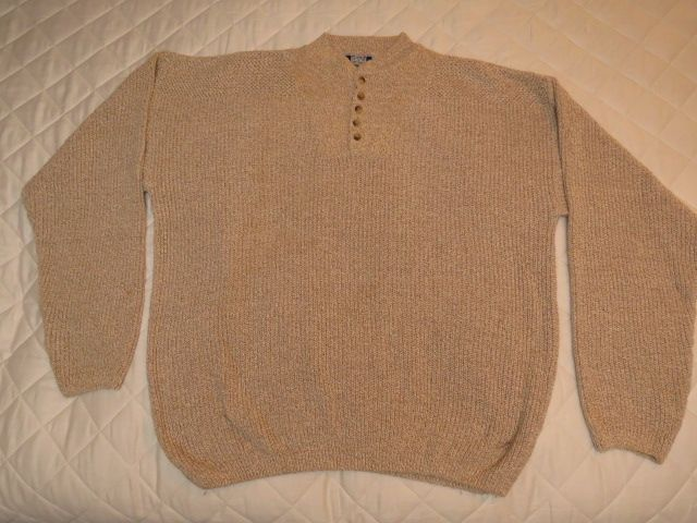 Man's 2XL Sweater 100% Cotton