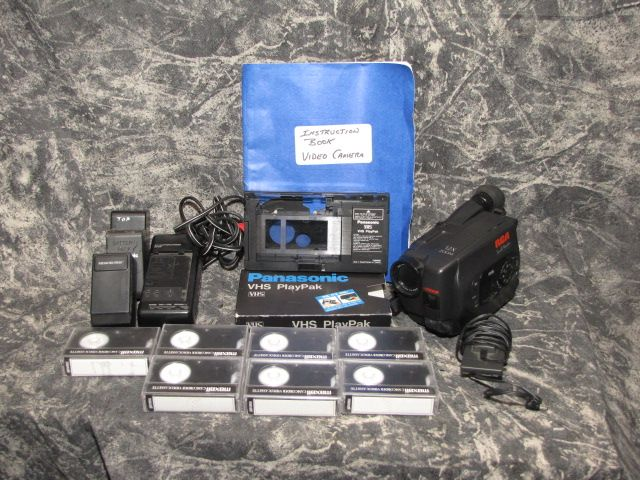 RCA VHS Video camcorder Model CC612